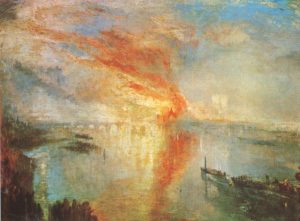 The Burning of the Houses of Parliament J.M.W. Turner
